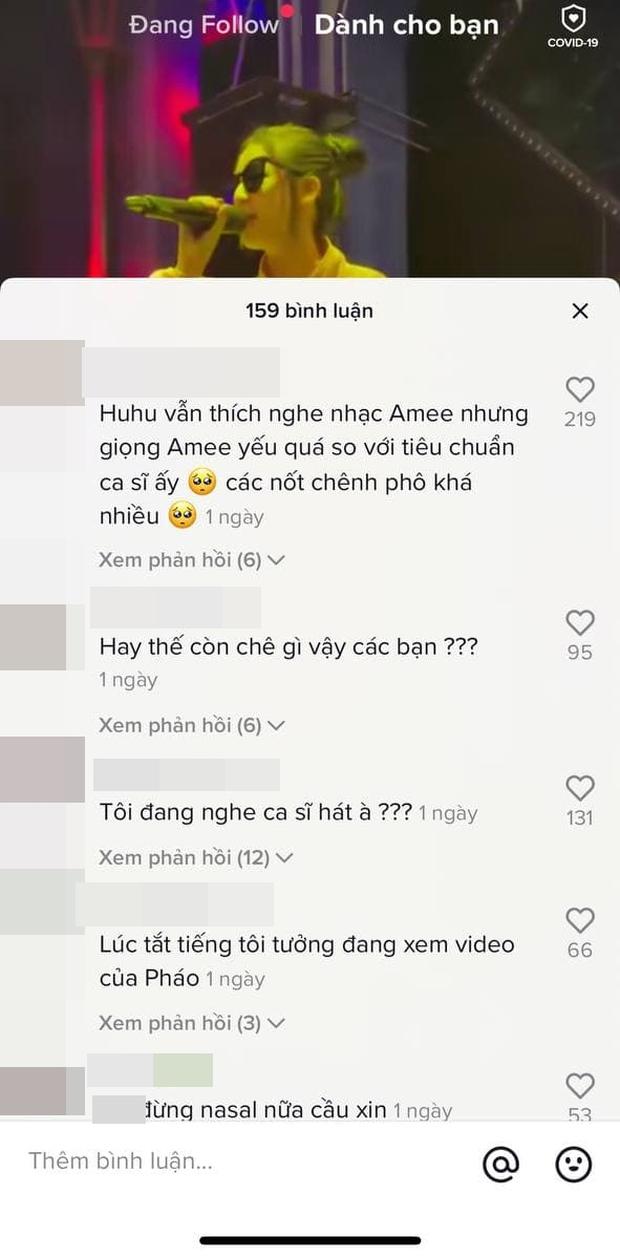 AMEE tiếp tục gây tranh cãi khi hát chênh phô tại buổi tổng duyệt, netizen than thở: Thà nghe hát đè còn hơn - Ảnh 4.