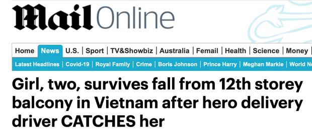 Báo Anh đồng loạt đăng bài ca ngợi anh hùng Nguyễn Ngọc Mạnh cứu em bé ngã từ tầng 12: Hành động dũng cảm trong tình huống ngàn cân treo sợi tóc - Ảnh 3.