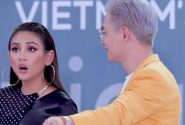 Võ Hoàng Yến, Nam Trung ngỡ ngàng khi gặp người quen casting Next Top Model mùa 9 - Ảnh 3.
