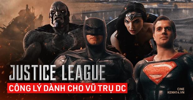 Với Justice League, Zack Snyder đã trả công lý về lại DC: 4 tiếng rực lửa thiêu đốt thảm họa năm xưa vào lãng quên - Ảnh 1.