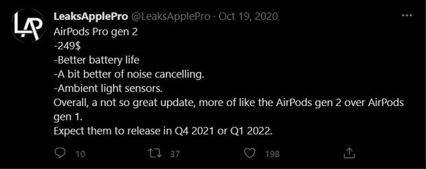 AirPods 3 chưa hết hot, AirPods Pro thế hệ mới đã rục rịch thông tin ra mắt - Ảnh 6.