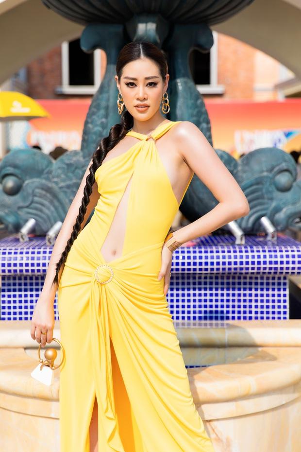 Ngọc Trinh lộ vòng 3 căng đét, dàn Hoa hậu Á hậu cũng thi nhau khoe ngực ỡm ờ trên thảm đỏ Fashion Voyage - Ảnh 13.