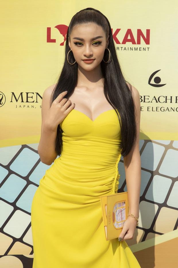 Ngọc Trinh lộ vòng 3 căng đét, dàn Hoa hậu Á hậu cũng thi nhau khoe ngực ỡm ờ trên thảm đỏ Fashion Voyage - Ảnh 14.