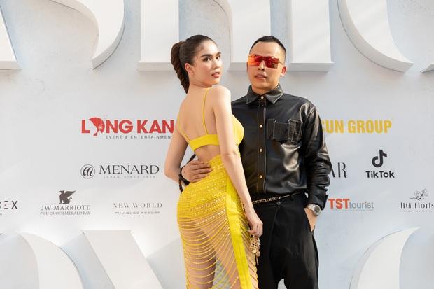 Ngọc Trinh lộ vòng 3 căng đét, dàn Hoa hậu Á hậu cũng thi nhau khoe ngực ỡm ờ trên thảm đỏ Fashion Voyage - Ảnh 3.