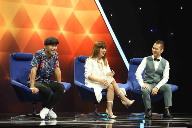 Quốc Thiên - Hoàng Ku mang tiệc pyjama lên sân khấu vẫn khiến nhạc sĩ Huy Tuấn thất vọng - Ảnh 8.
