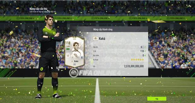 Góc đã giàu còn may: Đại gia vip nhất FIFA Online 4 khiến cả server sửng sốt vì siêu phẩm, game thủ lập tức định giá khủng - Ảnh 4.