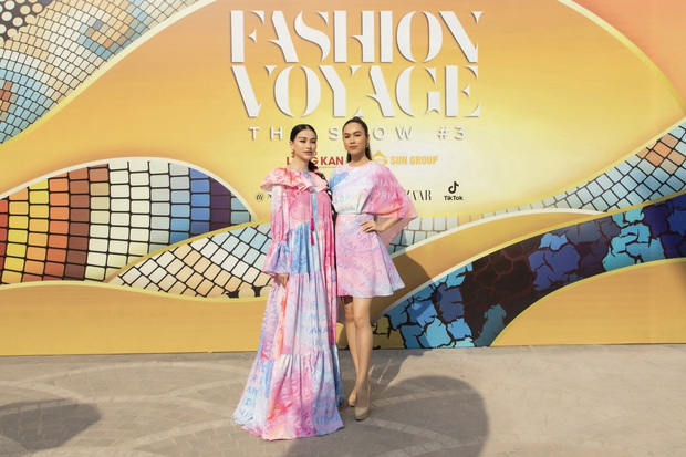 Ngọc Trinh lộ vòng 3 căng đét, dàn Hoa hậu Á hậu cũng thi nhau khoe ngực ỡm ờ trên thảm đỏ Fashion Voyage - Ảnh 19.
