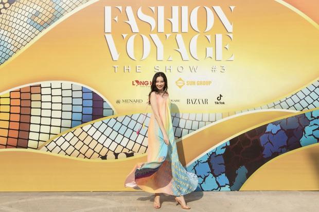 Ngọc Trinh lộ vòng 3 căng đét, dàn Hoa hậu Á hậu cũng thi nhau khoe ngực ỡm ờ trên thảm đỏ Fashion Voyage - Ảnh 20.