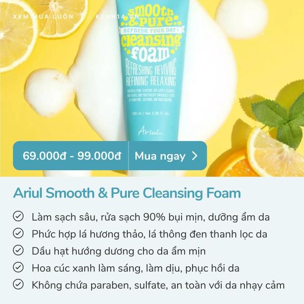 5 sữa rửa mặt dưới 100k đáng sắm nhất: Làm sạch tốt, dưỡng da mềm không kém đồ đắt tiền - Ảnh 2.