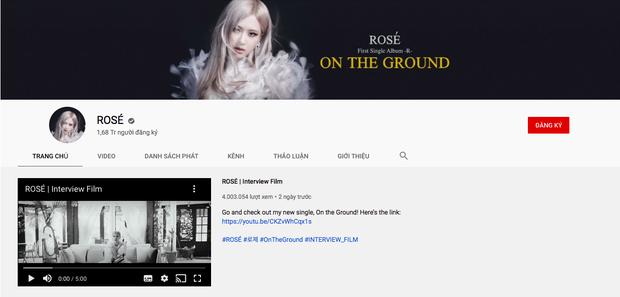 Vừa công khai kênh YouTube, Rosé (BLACKPINK) lập tức hút hơn 1 triệu subscribe chỉ trong một ngày - Ảnh 3.
