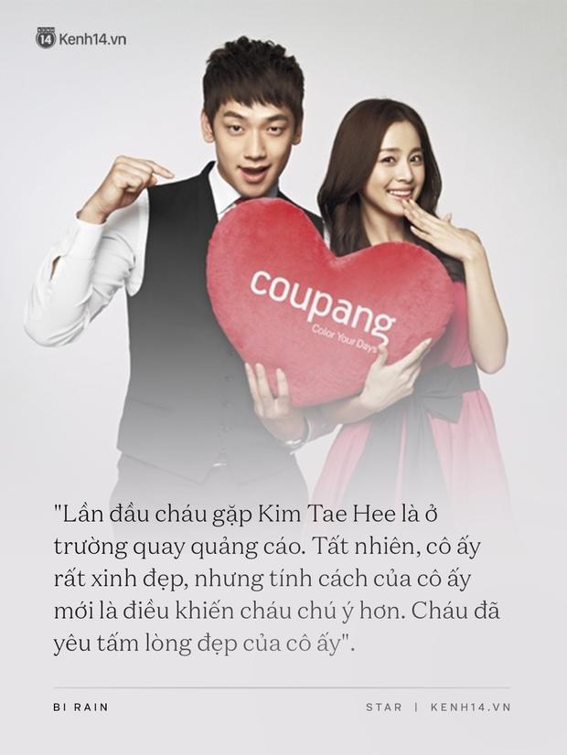 Bi Rain - Kim Tae Hee: Bị gán mác người đẹp và quái vật đến gánh nặng hào môn, tất cả kết lại bằng cuộc hôn nhân cả châu Á ngưỡng mộ - Ảnh 3.