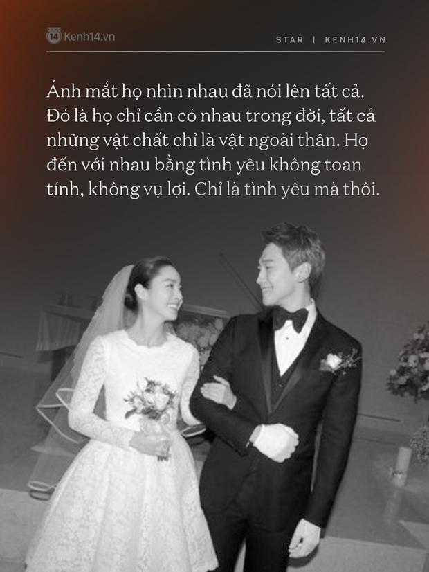 Bi Rain - Kim Tae Hee: Bị gán mác người đẹp và quái vật đến gánh nặng hào môn, tất cả kết lại bằng cuộc hôn nhân cả châu Á ngưỡng mộ - Ảnh 13.