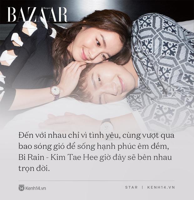 Bi Rain - Kim Tae Hee: Bị gán mác người đẹp và quái vật đến gánh nặng hào môn, tất cả kết lại bằng cuộc hôn nhân cả châu Á ngưỡng mộ - Ảnh 22.