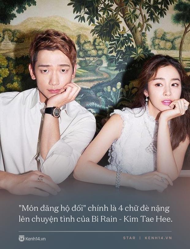 Bi Rain - Kim Tae Hee: Bị gán mác người đẹp và quái vật đến gánh nặng hào môn, tất cả kết lại bằng cuộc hôn nhân cả châu Á ngưỡng mộ - Ảnh 6.