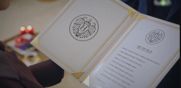 Hợp đồng hôn nhân của dượng Ju ở Penthouse 2 khiến chị em đọc xong chỉ muốn ở giá cả đời! - Ảnh 1.