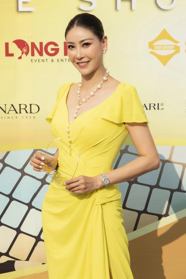 Ngọc Trinh lộ vòng 3 căng đét, dàn Hoa hậu Á hậu cũng thi nhau khoe ngực ỡm ờ trên thảm đỏ Fashion Voyage - Ảnh 23.