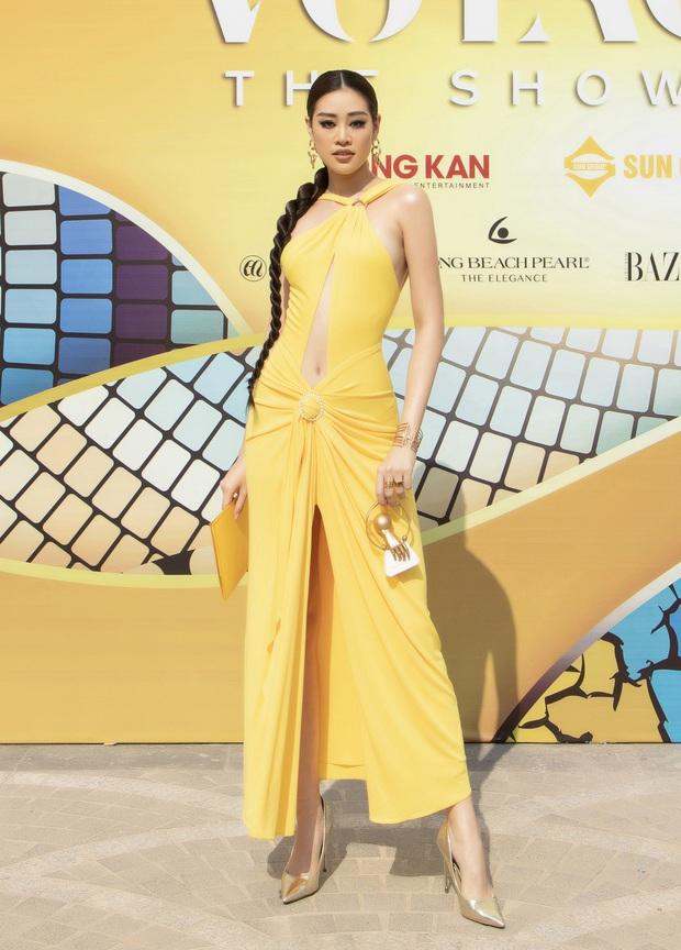 Lâu lâu mới có sự kiện thời trang nên khách mời thi nhau hở bạo, choáng nhất là độ bạo liệt của dàn Hoa - Á hậu - Ảnh 4.