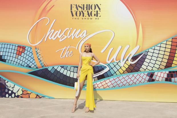 Ngọc Trinh lộ vòng 3 căng đét, dàn Hoa hậu Á hậu cũng thi nhau khoe ngực ỡm ờ trên thảm đỏ Fashion Voyage - Ảnh 8.