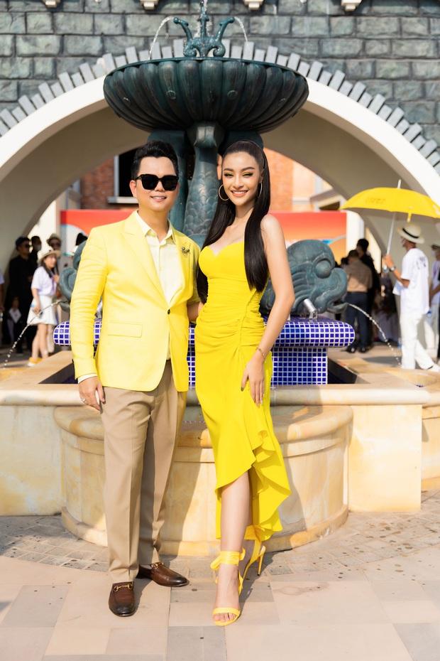 Ngọc Trinh lộ vòng 3 căng đét, dàn Hoa hậu Á hậu cũng thi nhau khoe ngực ỡm ờ trên thảm đỏ Fashion Voyage - Ảnh 24.
