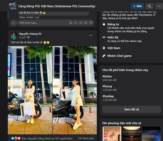 Game thủ Việt thi nhau khoe ảnh chụp cùng PS5 - Ảnh 2.