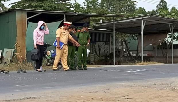 Thai phụ tử vong sau va chạm xe máy - Ảnh 1.