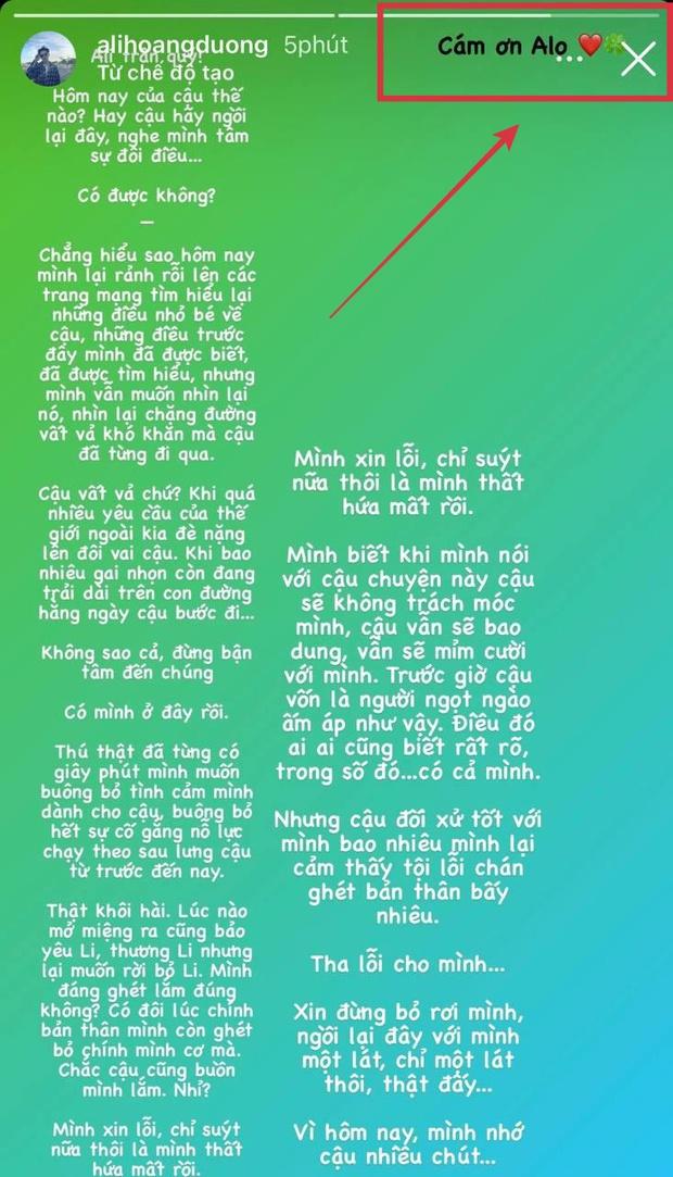 Sau drama hội bạn, Ali Hoàng Dương viết tâm thư và nhắn nhủ ai đó giữa đêm: Tha lỗi cho mình, xin đừng bỏ rơi mình? - Ảnh 3.