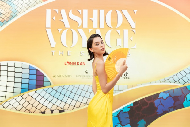 Ngọc Trinh lộ vòng 3 căng đét, dàn Hoa hậu Á hậu cũng thi nhau khoe ngực ỡm ờ trên thảm đỏ Fashion Voyage - Ảnh 6.