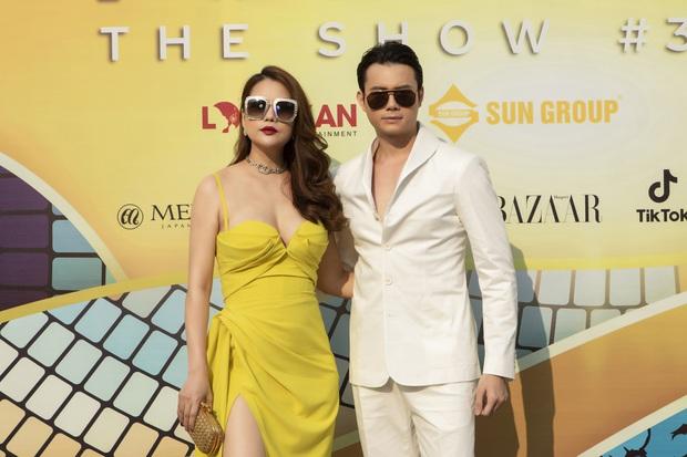 Ngọc Trinh lộ vòng 3 căng đét, dàn Hoa hậu Á hậu cũng thi nhau khoe ngực ỡm ờ trên thảm đỏ Fashion Voyage - Ảnh 9.