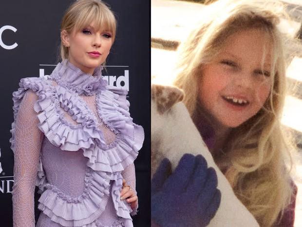 Ảnh quá khứ hé lộ nhan sắc thật của dàn mỹ nhân Hollywood: Taylor lột xác, Billie Eilish xinh hơn cả 2 chị em Gigi Hadid? - Ảnh 3.