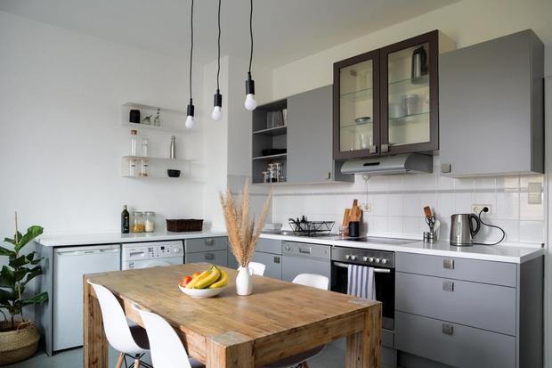 Chàng trai Việt tự tay cải tạo lại căn bếp với chi phí 5 triệu đồng, chỉ thay đổi vài chi tiết mà không gian khác hẳn - Ảnh 5.