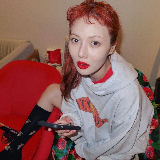 """HyunA có sở thích makeup khác người, dễ gây ấn tượng nhưng hiếm ai dám """"đu đưa""""! - Ảnh 5."""