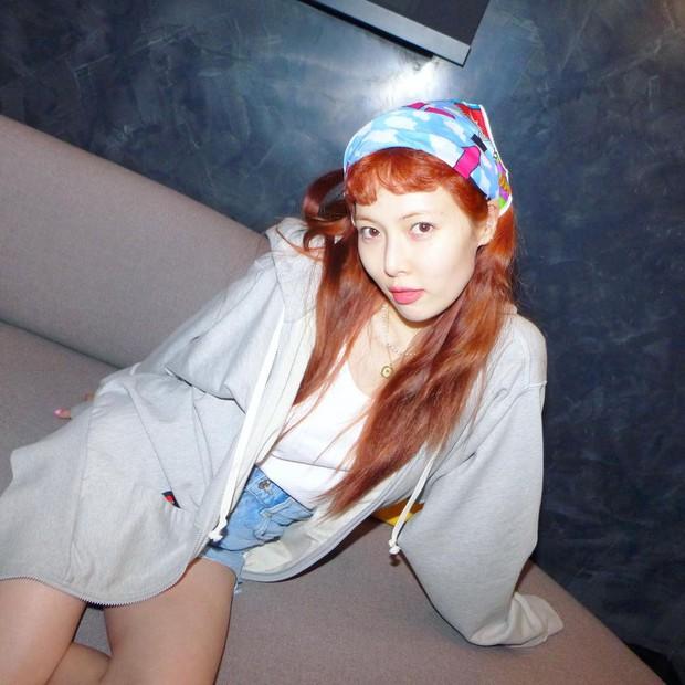 """HyunA có sở thích makeup khác người, dễ gây ấn tượng nhưng hiếm ai dám """"đu đưa""""! - Ảnh 4."""