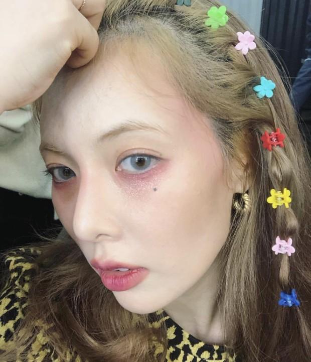 """HyunA có sở thích makeup khác người, dễ gây ấn tượng nhưng hiếm ai dám """"đu đưa""""! - Ảnh 6."""