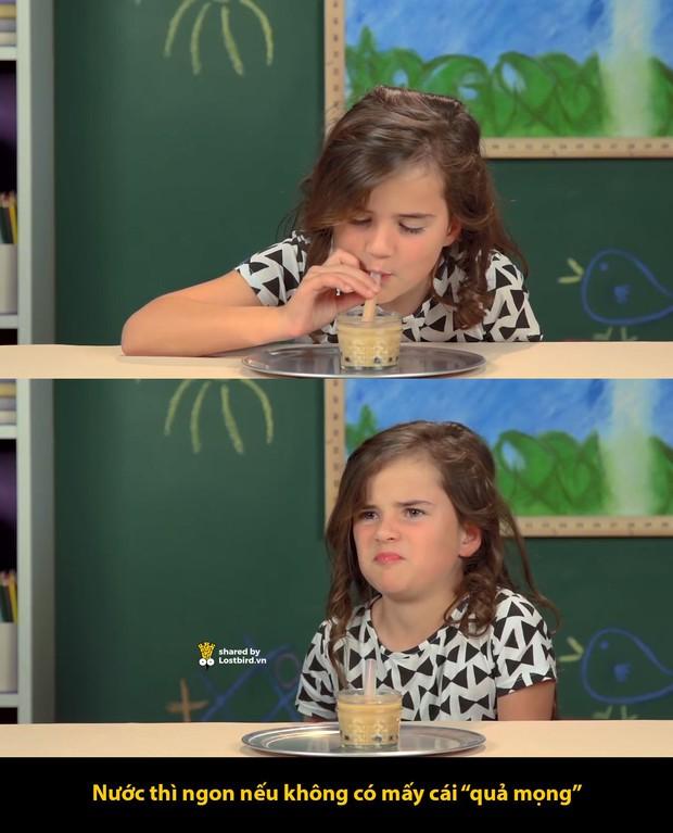 Phản ứng khó tin của trẻ em phương Tây khi thử uống trà sữa: Cứ tưởng là ai cũng thích món này chứ? - Ảnh 4.