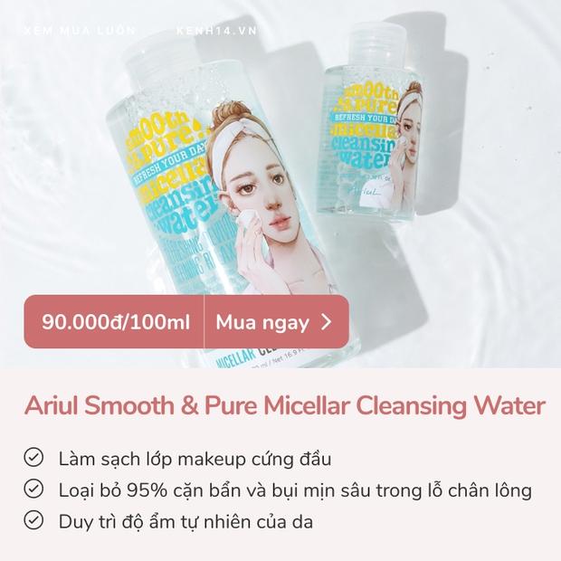 Skincare tiết kiệm mà da vẫn đẹp: 4 nước tẩy trang dưới 100k đã xài là ưng - Ảnh 2.