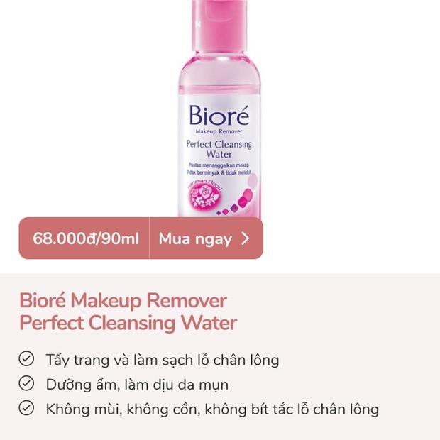 Skincare tiết kiệm mà da vẫn đẹp: 4 nước tẩy trang dưới 100k đã xài là ưng - Ảnh 4.