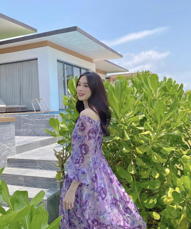 Hoa hậu Đặng Thu Thảo tung 3 bức ảnh sương sương ở resort, lướt qua thôi cũng đủ làm tim đập thình thịch vì đẹp nức nở - Ảnh 4.