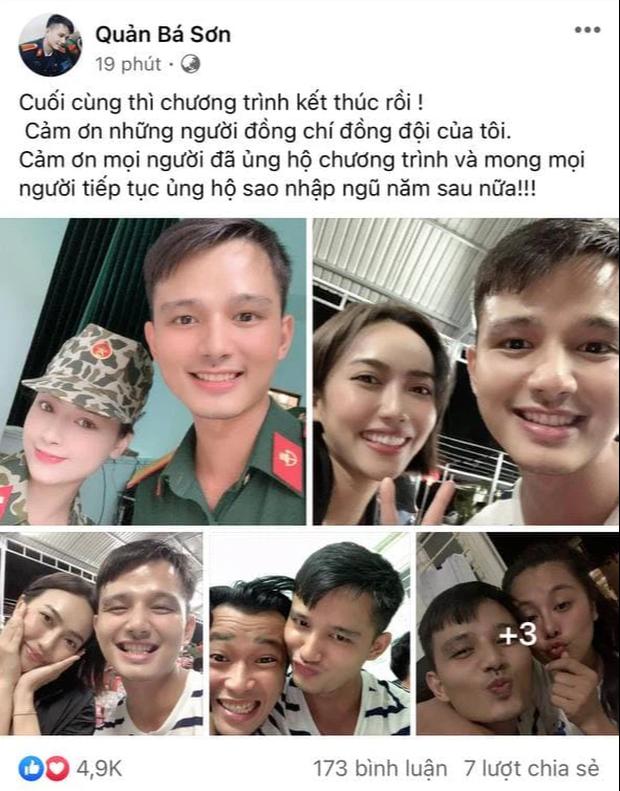 Đồng chí Sơn đăng hẳn 3 tấm hình chung với Diệu Nhi nhưng lại không có ảnh cùng Hậu Hoàng vì một lý do! - Ảnh 1.