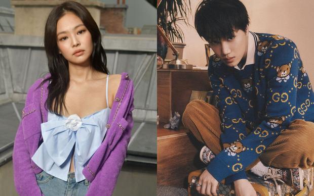 Bắt trọn khoảnh khắc Jennie lấp ló đứng nhìn Kai trên sân khấu, netizen thi nhau tiếc nuối cuộc tình cũ từng bị phản đối dữ dội - Ảnh 1.