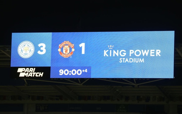 MU đứt chuỗi 29 trận bất bại sân khách, chia tay FA Cup sau thất bại thảm hại trước Leicester - Ảnh 1.