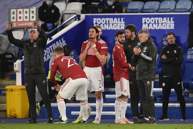MU đứt chuỗi 29 trận bất bại sân khách, chia tay FA Cup sau thất bại thảm hại trước Leicester - Ảnh 9.