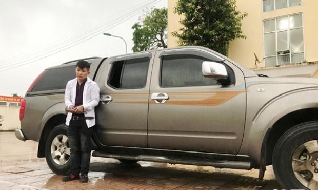 Nam thanh niên trộm xe ô tô ở Hà Tĩnh chạy vào Quảng Trị... thăm bạn gái - Ảnh 1.