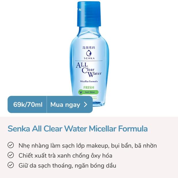 5 sản phẩm làm sạch ngon bổ rẻ làm da đẹp lên trông thấy, tiện nhất là có size nhỏ xinh hợp mang đi du lịch - Ảnh 5.