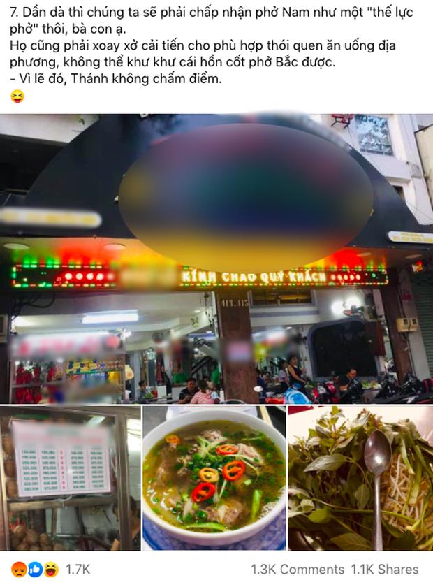 """Nghi vấn một nhóm review ăn uống cố tình """"hạ bệ"""" phở Sài Gòn với phở Hà Nội để câu tương tác, dân mạng bức xúc tột độ - Ảnh 1."""