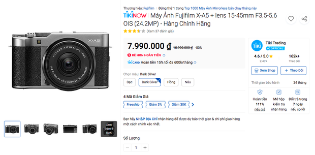 Deal hot cho người chơi hệ sống ảo: Loạt máy ảnh nhà Fujifilm sale sâu tới 50% - Ảnh 5.