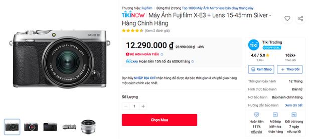 Deal hot cho người chơi hệ sống ảo: Loạt máy ảnh nhà Fujifilm sale sâu tới 50% - Ảnh 7.