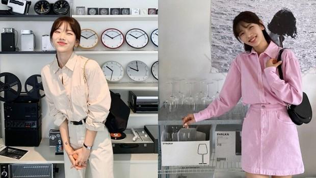 6 xu hướng áo sẽ cực hot trong năm 2021, nhìn hội gái Hàn mặc đẹp nức nở mà muốn mua ngay - Ảnh 1.