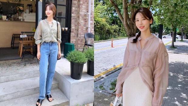 6 xu hướng áo sẽ cực hot trong năm 2021, nhìn hội gái Hàn mặc đẹp nức nở mà muốn mua ngay - Ảnh 3.