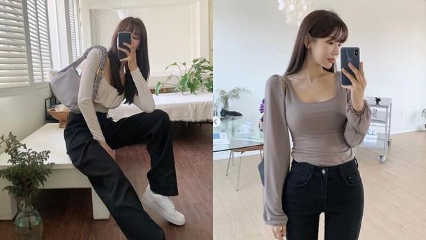 6 xu hướng áo sẽ cực hot trong năm 2021, nhìn hội gái Hàn mặc đẹp nức nở mà muốn mua ngay - Ảnh 5.
