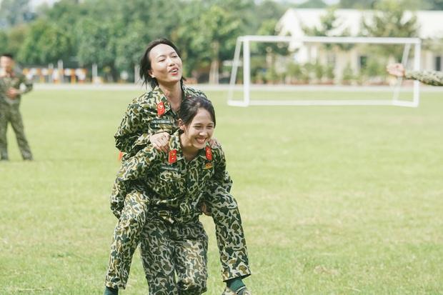 Hậu Hoàng: Từ cô bạn thân nhập ngũ ké Khánh Vân đến nhân vật hot nhất nhì Sao Nhập Ngũ - Ảnh 7.